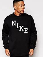 Спортивная кофта Nike, черный, хлопок, ф4061