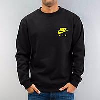 Спортивная кофта Nike, черный, хлопковый, ф4064