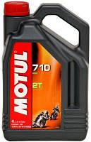 Масло моторное для мотоциклов синтетическое Motul 710 2t (4l) 104035