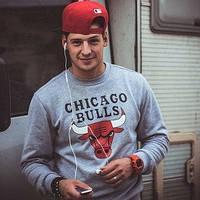 Спортивная кофта chicago bulls, чикаго булс, для молодежи, ф4159