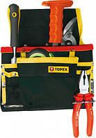 Карман для инструмента, 8 гнезд, металлические пет (шт.) TOPEX (79R432)