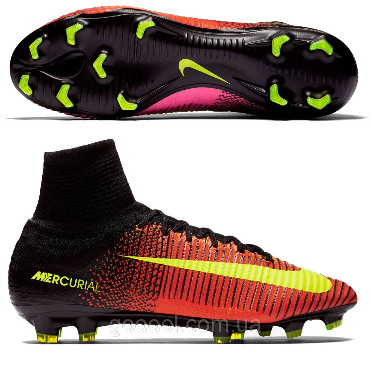 ff5600d6923a Бутсы футбольные Nike Mercurial Superfly V FG - ГООООЛ› спортивная и  футбольная экипировка, обувь