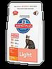 Hills SP Feline Adult Light для кошек с излишним весом 1,5 кг