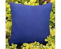 Наволочка Декоративная Однотонная 45х45 см Синяя, арт. TSN-98315