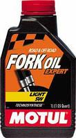 Масло трансмиссионное вилочное technosynthese Motul fork oil expert light SAE 5w (1l) 105929, фото 1