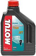 Масло для 2-х тактных двигателей technosynthese д/лод.мотор Motul outboard tech 2t (2l) 106614