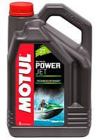 Масло для 2-х тактных двигателей technosynthese д/лод.мотор Motul powerjet 2t (4l) 105873