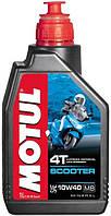 Масло моторное для скутеров минеральное Motul scooter 4t SAE 10w40 mb (1l) 105937, фото 1