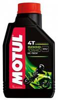 Масло для 4-х тактных двигателей полусинтетическое Motul 5000 4t SAE 10w30 (1l) 106183