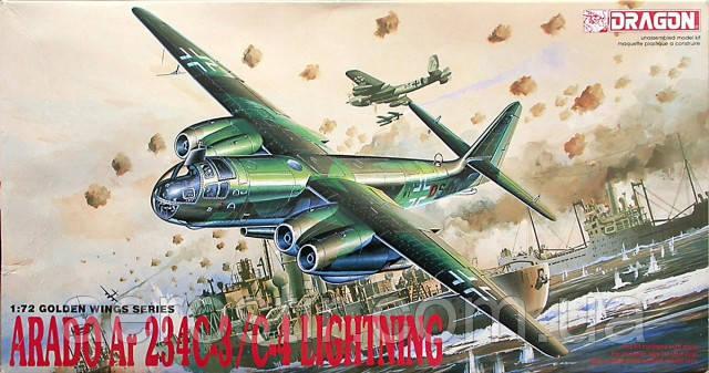 Arado Ar.234C-3/C4 'Lightning' 1/72 DRAGON 5004