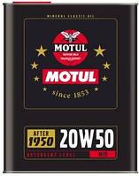 Масло моторное минеральное д/авто Motul SAE 20w50 (2l) 104511