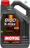 Масло моторное синтетическое д/авто Motul 8100 x-max SAE 0w30 (5l) 106571