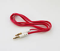AUX кабель Lite Slim Pink