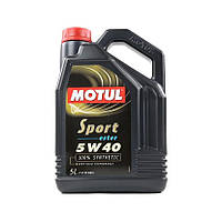 Масло моторное синтетическое д/авто Motul sport 5w50 SAE (5l) 102716