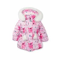 Куртка зимняя розовая для девочки Goldy (29-01-ЗД-16), фото 1