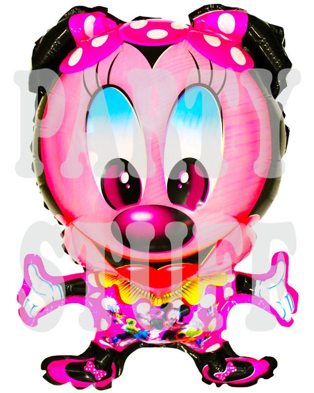 Воздушный шар Минни Маус с ножками