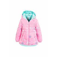 Куртка демисезонная розовая для девочки Goldy (07-ВД-16)