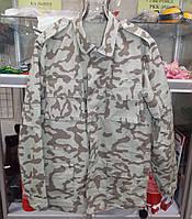 Куртка удлиненная камуфляж Ирак, ткань рип-стоп