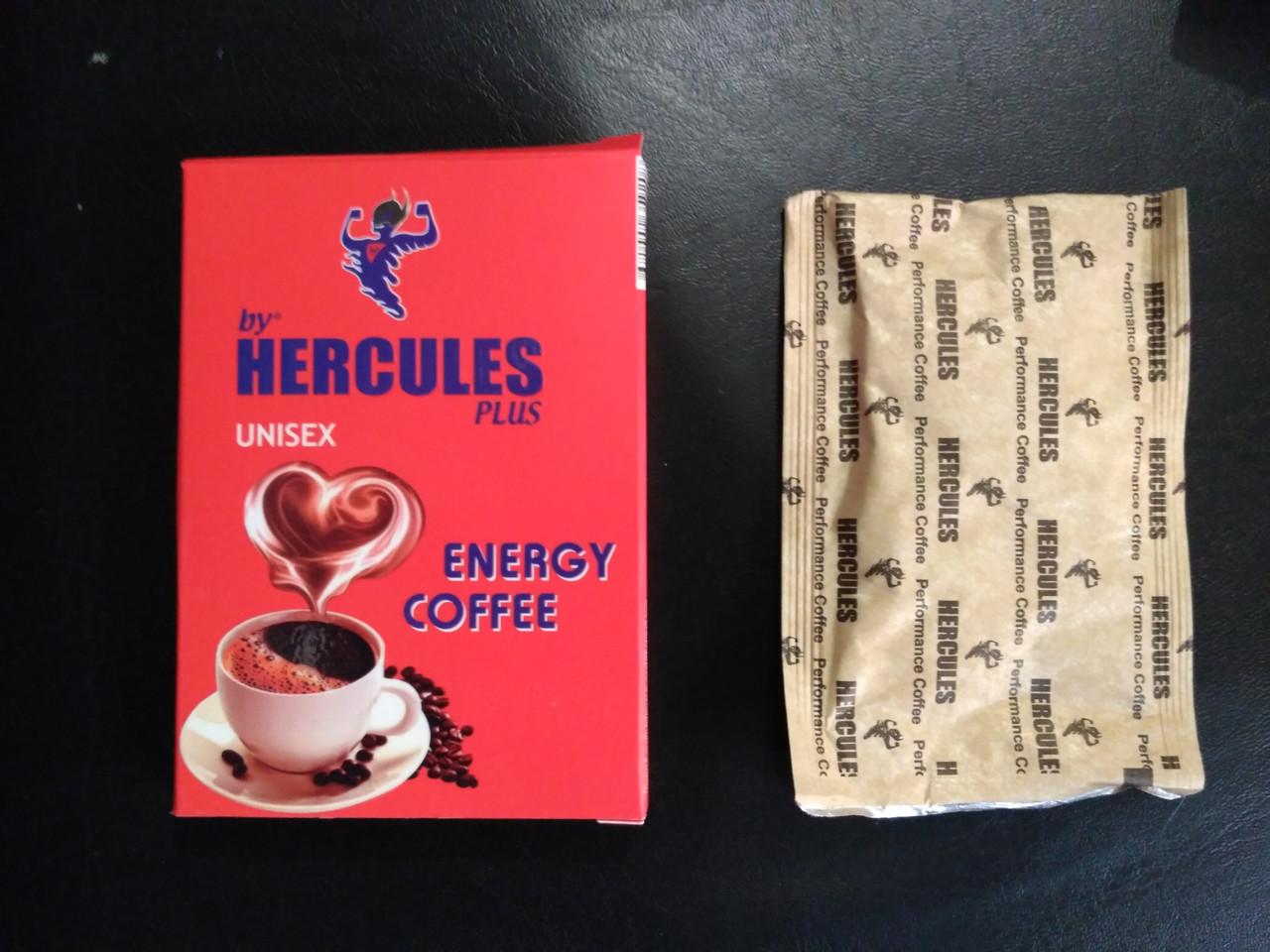 Кофе Hercules для поднятия энергии и либидо для неё и него