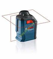 Лазер 360° с перекрёстными лучами Bosch GLL 2-20 + BM3 (0601063J00)