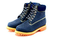 """Зимние ботинки на меху Timberland 6 inch """"Blue Boots"""" - """"Синие"""""""