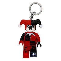 LEGO Брелок-фонарик Супергерои Харли Квинн DC Comics Harley Quinn Keychain with Light LGL-KE81