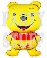 Фольгированный шар фигура Винни Пух, 80 см