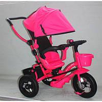 Трёхколёсный велосипед AT0103 R  надувные колеса