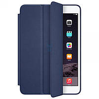 Кожаный чехол с подставкой Apple Smart Case Midnight Blue для iPad mini 3 (также, mini Retina и mini первого поколения) - темно синий (MGMW2)