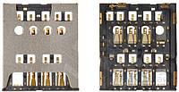 (Коннектор) Aksline Разъем SIM-карты Sony LT26i Xperia S / LT26ii Xperia SL Original