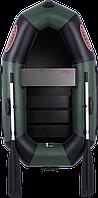 Надувная гребная одноместная лодка с поворотной уключиной V190LS (лодки со сланью, ПВХ)