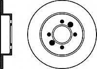 Диск тормозной задний FENOX TB215745; 7701205844, 7701204295; BREMBO 08564560, 08564530 на Renault Safrane