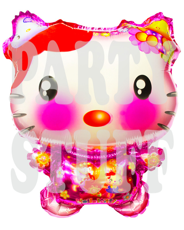 воздушные шарики Китти