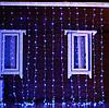 Светодиодная гирлянда водопад штора 2м * 2м IP65 синяя