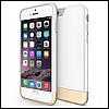 Чехол пластиковый двухцветный для Apple iPhone 6/6Splus белый
