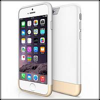 Чехол пластиковый двухцветный для Apple iPhone 6/6Splus белый, фото 1