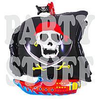 Воздушный фольгированный шар Пиратский корабль