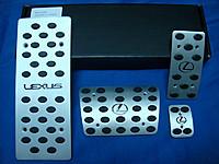 комплект накладок на педали для Lexus