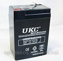 Акумулятор UKC 6V 4Ah