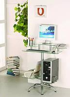 Стол компьютерный из стекла купить, фото 1