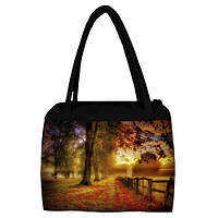 Женская сумка с принтом Осень
