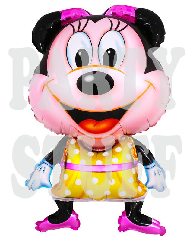 фольгированный воздушный шарик Минни Маус