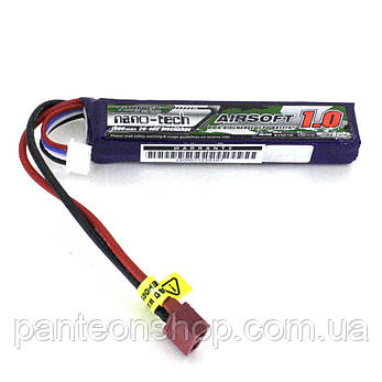 АКБ Turnigy LiPo 11.1v 1000mAh 20-40C (T-Connector), фото 2