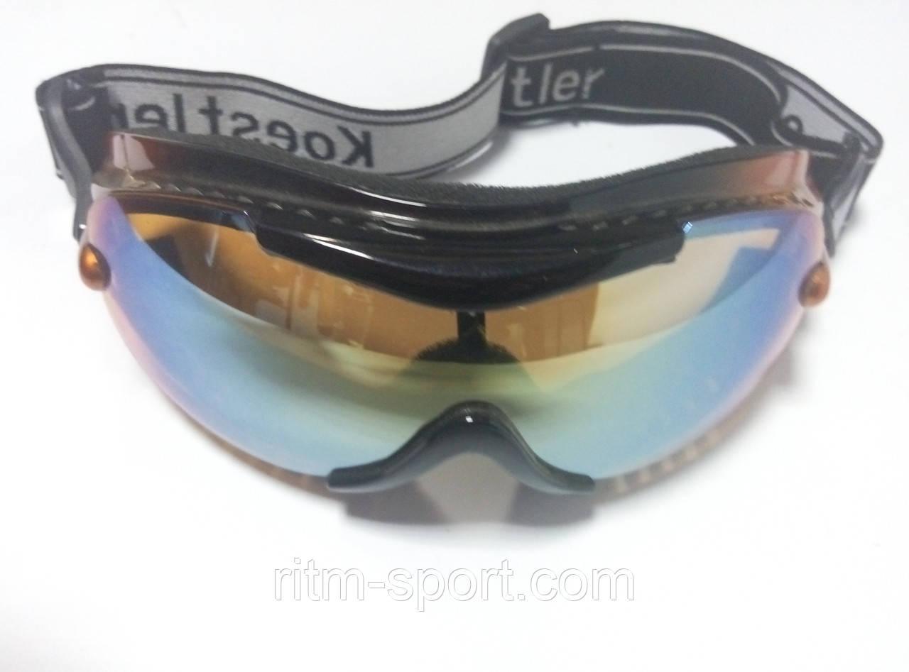 Окуляри лижні для захисту очей від снігу і вітру