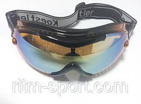Очки лыжные для защиты глаз от снега и ветра