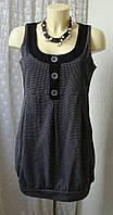 Платье туника красивое модное janing р.48 7266а