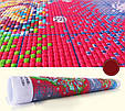 Цветы в вазе H639/2 Набор для вышивки крестом с печатью на ткани 14ст , фото 3
