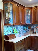 Кухни  с деревянным фасадом