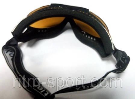 Лижні окуляри захистять ваші очі від негоди під час катання і забезпечать чіткий огляд траси.