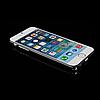 Алюминиевый бампер с защелкой для iPhone 6/6S plus серый